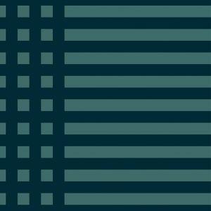 Grids Blue Wallpaper by Mut Design Studio