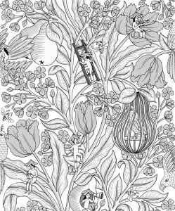 Neo- Belle-epoque Off wallpaper