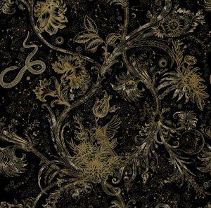 Neo-Mithology Black wallpaper