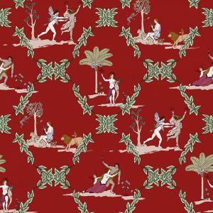 Neo-bucolic Red wallpaper