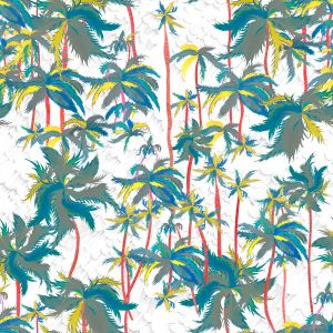 Mural Palm Breeze