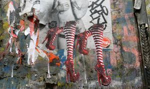 Bowery Stockings Mural