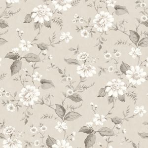 Laura´s Cottage Brown wallpaper