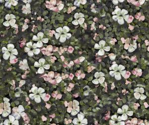 Floral Tapestry Pink wallpaper