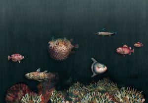 Mural Deep Ocean Atlantic