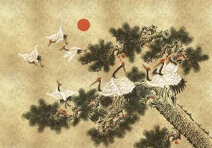Mural Ukiyo Gold