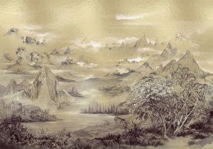 Mural Kami Gold