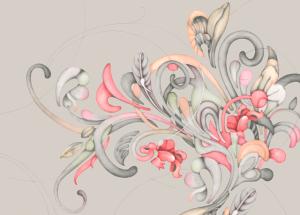 Romance M3403-3 mural