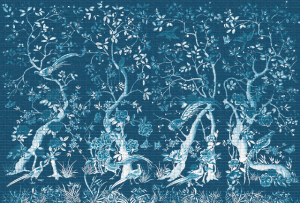 Mural Chinoiserie Blue