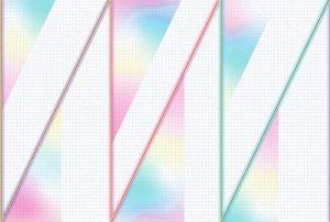 Mural Neon Rainbow