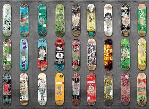 Skateboard grey