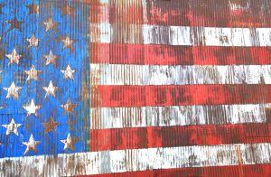 Stars & Stripes Mural