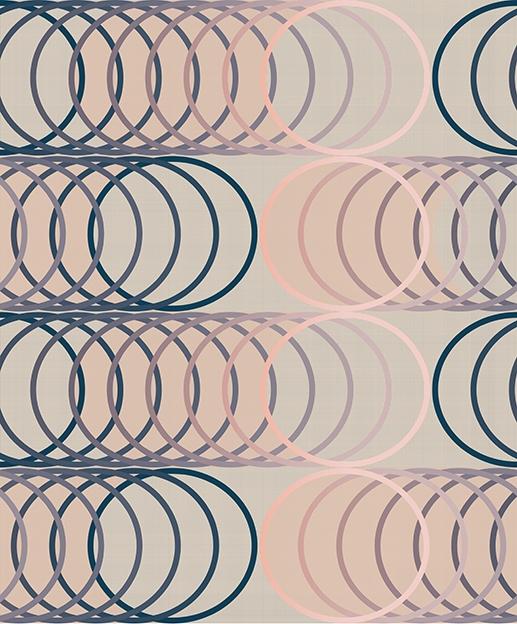 Papel Pintado Circles Eclipse
